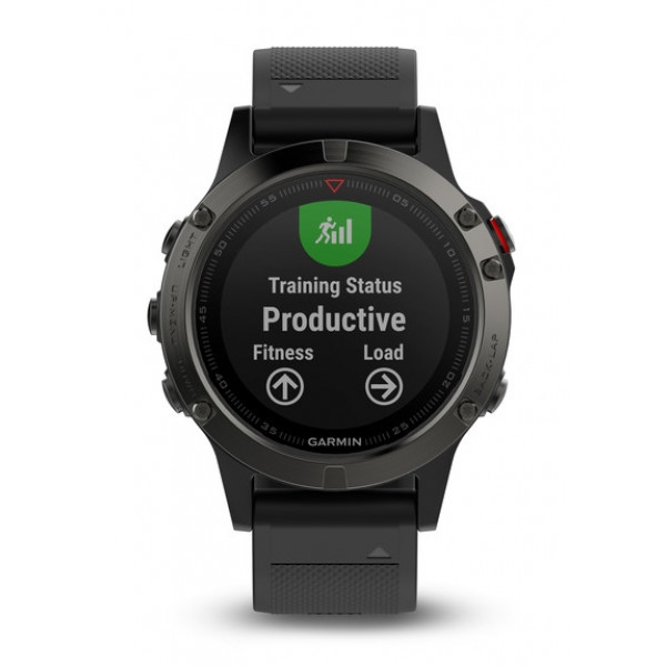 tienda de liquidación ccfab 43759 Deporte - Garmin Fenix 5 reloj deportivo Gris 240 x 240 Pixeles Bluetooth