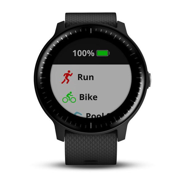 Deporte Garmin vívoactive 3 Music reloj deportivo Negro Pantalla táctil 240 x 240 Pixeles Bluetooth