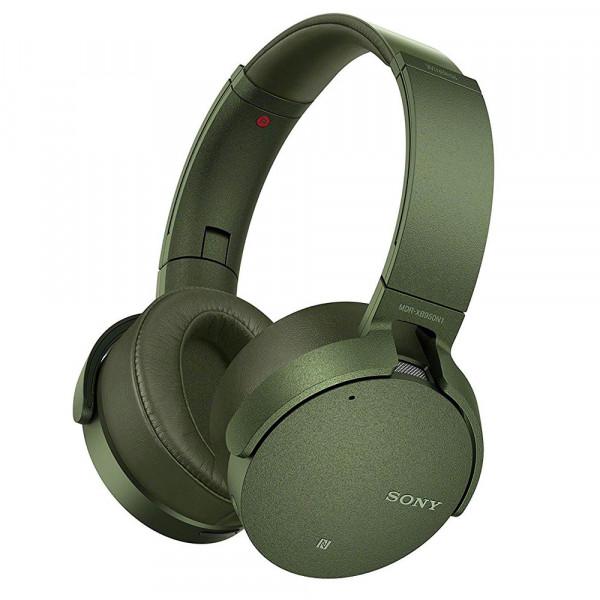 9af1d7e6631 Auriculares - Sony MDR-XB950N1G Verde Circumaural Diadema auricular