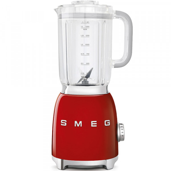 Batidora de vaso - Smeg BLF01RDEU Licuadora 1.5L 800W Rojo