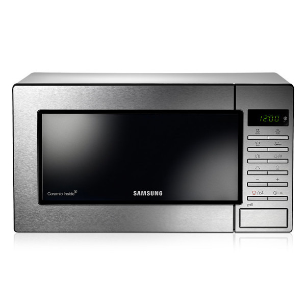 Microondas - Samsung GE87M-X Encimera 23L 800W Acero inoxidable