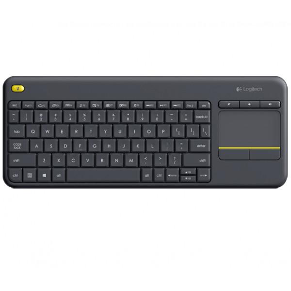 Accesorio de Informática - Logitech K400 Plus RF inalámbrico QWERTY Negro