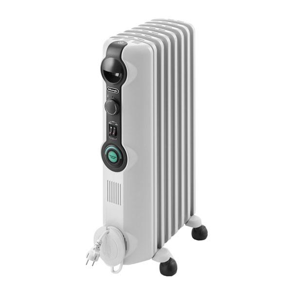 Calefacción - DeLonghi TRRS 0715C Interior Blanco 1200W Radiador calefactor eléctrico