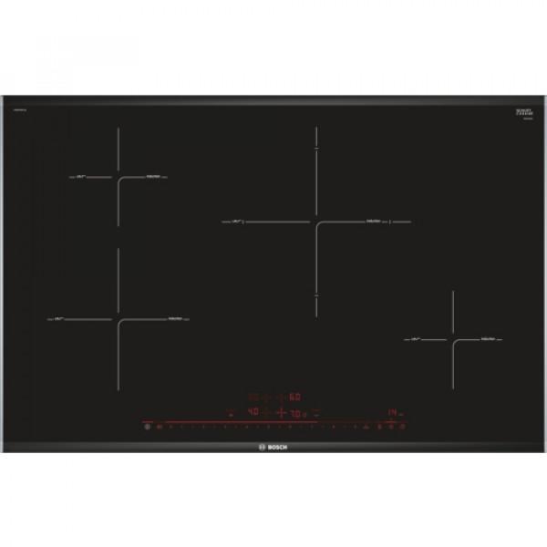 Placa de Inducción - Bosch Serie 8 PIE875DC1E hobs Negro Integrado Con placa de inducción 4 zona(s)