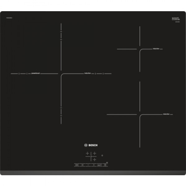 Placa de Inducción - Bosch Serie 4 PID631BB1E hobs Negro Integrado Con placa de inducción 3 zona(s)