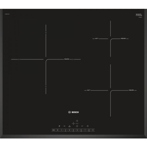Placa de Inducción - Bosch Serie 6 PIJ651FC1E hobs Negro Integrado Con placa de inducción 3 zona(s)