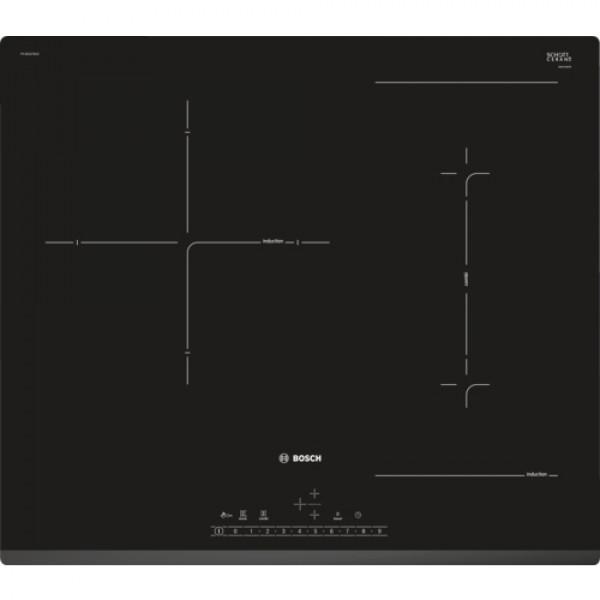 Placa de Inducción - Bosch Serie 6 PVJ631FB1E hobs Negro Integrado Con placa de inducción 3 zona(s)