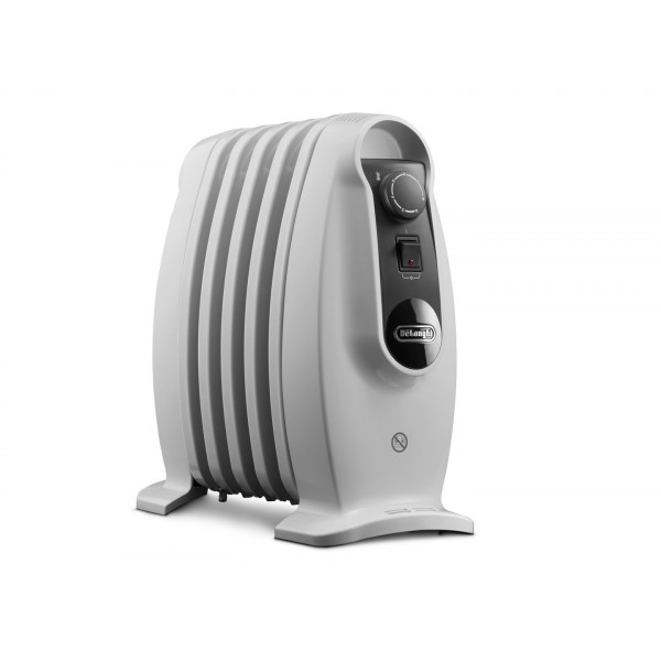 Calefacción - DeLonghi TRNS 0505M Interior Color blanco 500W Oil electric space heater calefactor eléctrico
