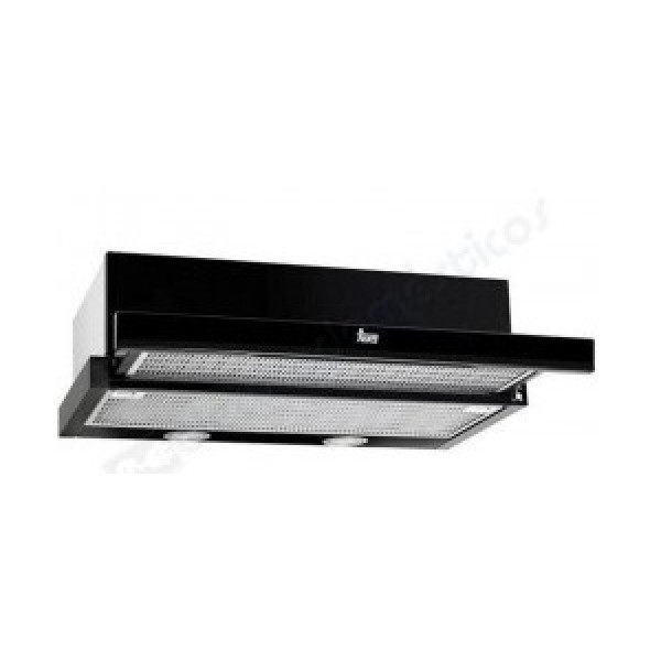 Campana - Teka CNL 6415 PLUS Semi built-in (pull out) cooker hood 385m³/h A Negro