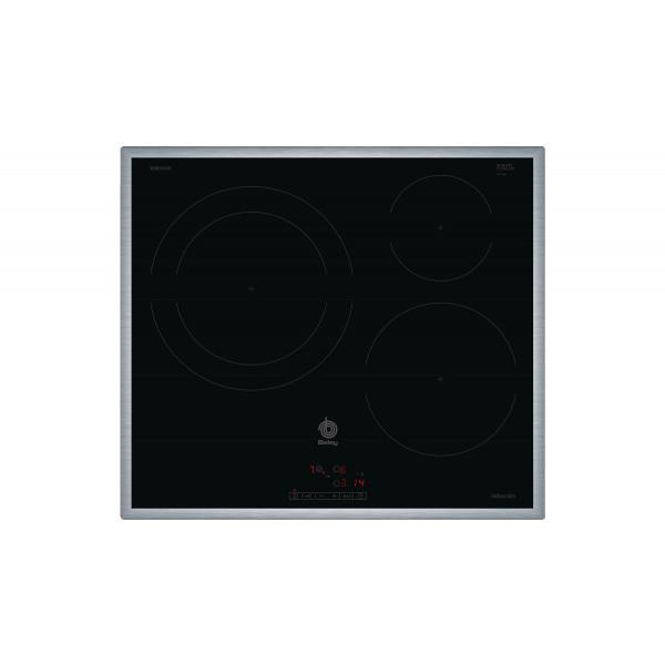 Placa de Inducción - Balay 3EB865XR hobs Negro Integrado Con placa de inducción 3 zona(s)