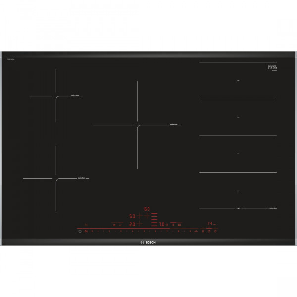 Placa de Inducción - Bosch Serie 8 PXV875DC1E Integrado Induction hob Negro hobs