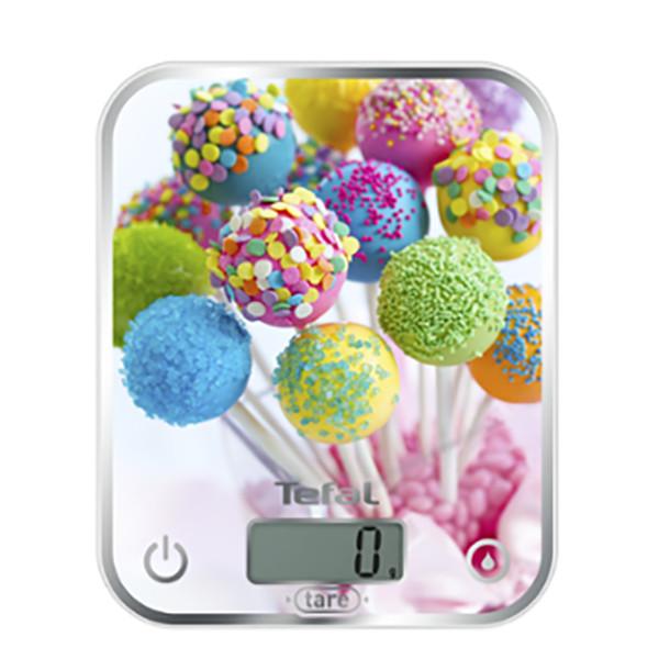 Preparación de alimentos - Tefal Optiss Mesa Rectángulo Báscula electrónica de cocina Multicolor