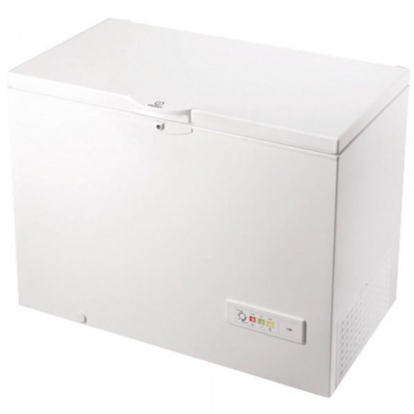 Congelador Horizontal - Indesit OS 1A 300 H 2 Independiente Baúl 311L A+ Blanco