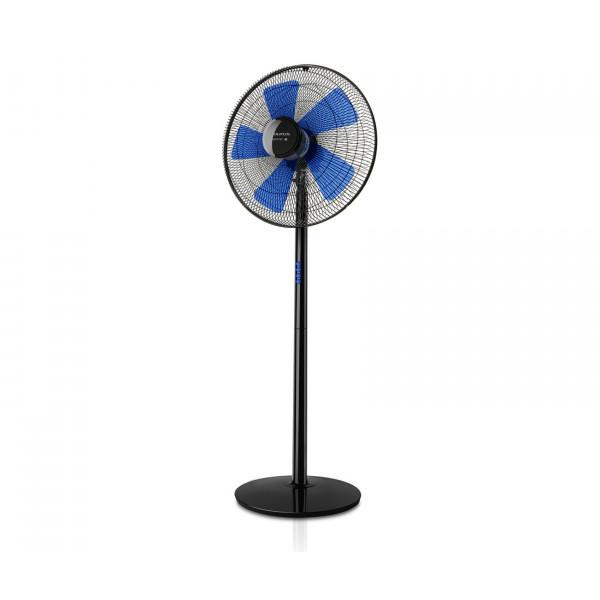 Ventilador - Taurus Boreal 16C Elegance con aspas para el hogar Negro, Azul