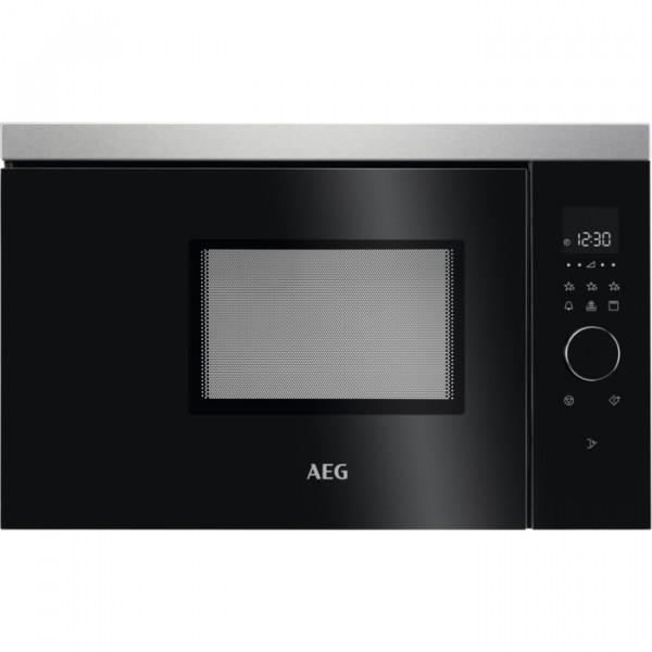 Microondas - AEG MBB1756DEM Integrado combinado 17 L 800 W Acero inoxidable