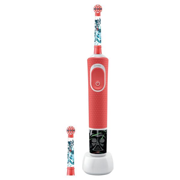 Cepillo dental eléctrico - Oral-B 80324392 cepillo eléctrico para dientes Niño Rojo
