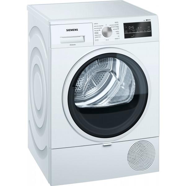 Secadora Condensación - Siemens iQ500 WT47R461ES secadora Independiente Carga frontal Blanco 8 kg A+++