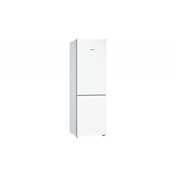 Frigorífico combi - Bosch Serie 4 KGN36VWDA nevera y congelador Independiente 324 L Blanco