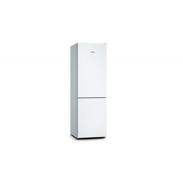 Frigorífico combi - Bosch Serie 4 KGN36VWEA nevera y congelador Independiente 326 L E Blanco