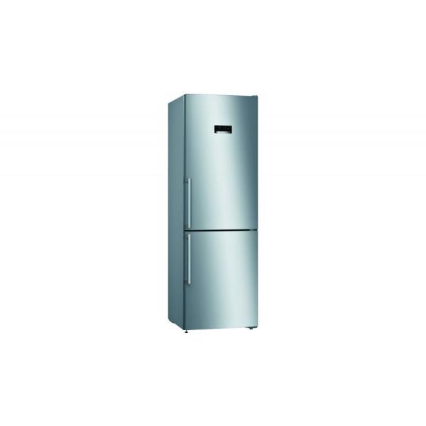 Frigorífico combi - Bosch Serie 4 KGN36XIDP nevera y congelador Independiente 324 L Acero inoxidable