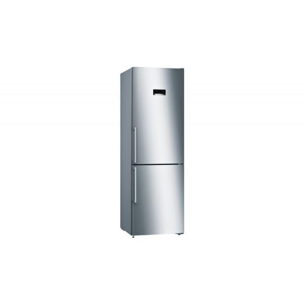 Frigorífico combi - Bosch Serie 4 KGN36XIEP nevera y congelador Independiente 324 L Acero inoxidable