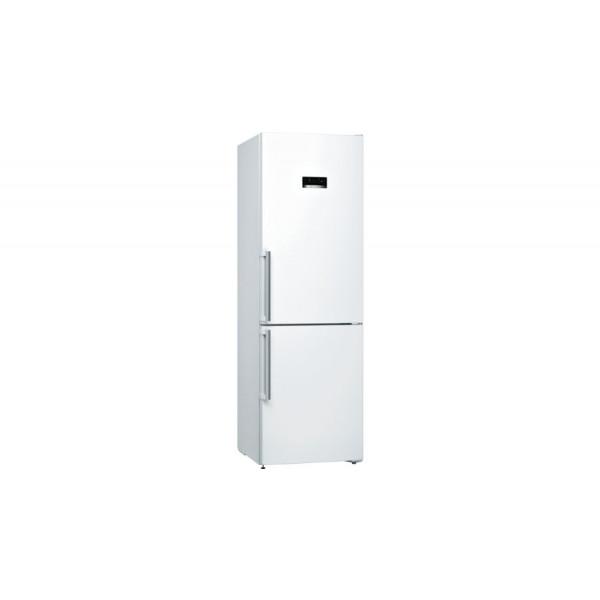 Frigorífico combi - Bosch Serie 4 KGN36XWDP nevera y congelador Independiente 324 L Blanco