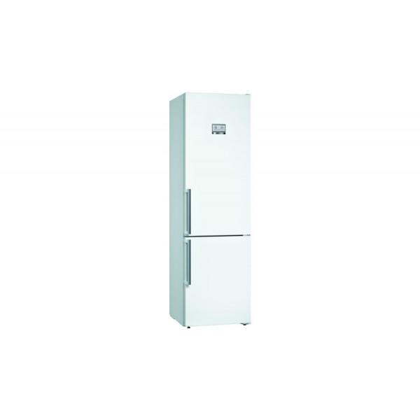 Frigorífico combi - Bosch Serie 6 KGN39AWEP nevera y congelador Independiente 366 L Blanco