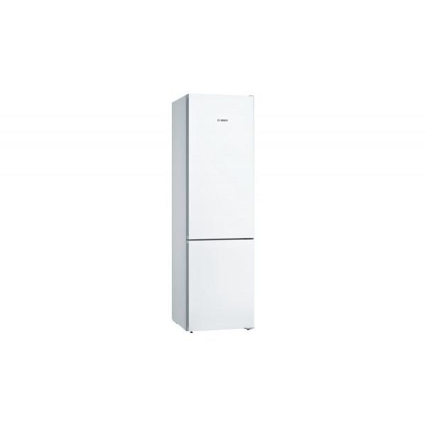 Frigorífico combi - Bosch Serie 4 KGN39VWEA nevera y congelador Independiente 366 L Blanco