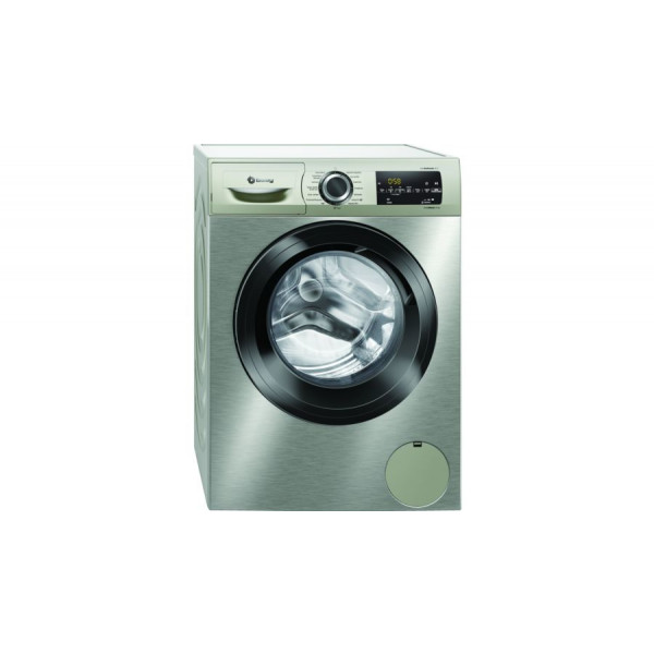 Lavadora Carga Frontal - Balay 3TS982XD lavadora Independiente Carga frontal 8 kg 1200 RPM Acero inoxidable