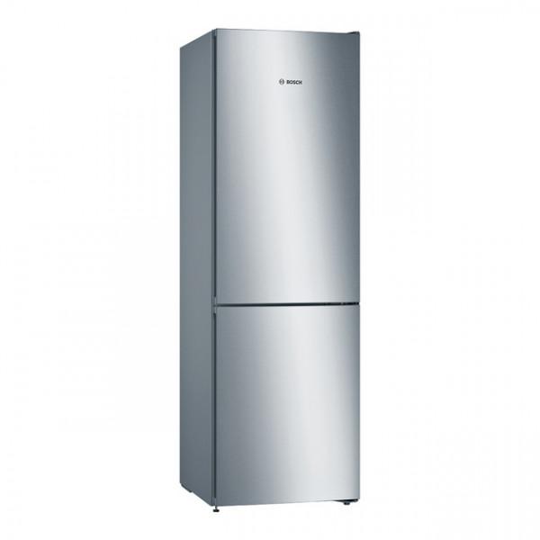 Frigorífico combi - Bosch Serie 4 KGN36VLEA nevera y congelador Independiente 324 L Acero inoxidable