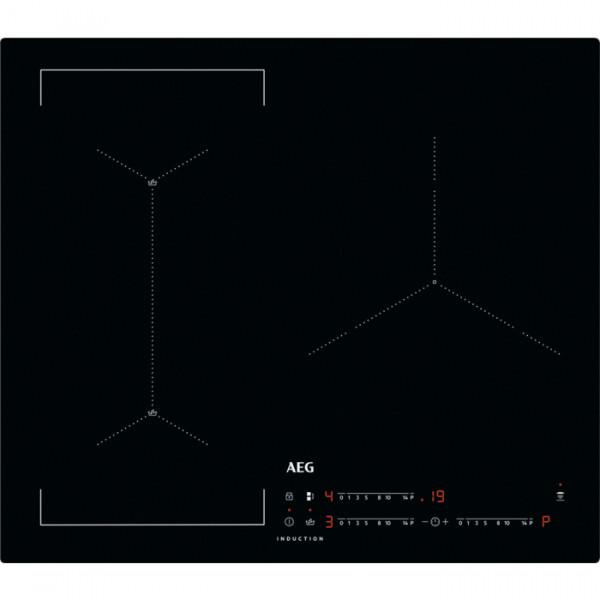 Placa de Inducción - AEG IAE63421CB Negro Integrado 59 cm Con placa de inducción 3 zona(s)
