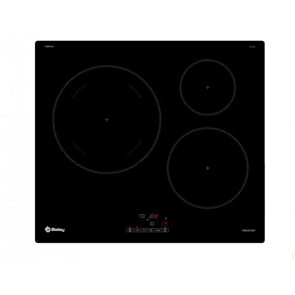 Placa de Inducción - Balay 3EB865ERS hobs Negro Integrado 60 cm Con placa de inducción 3 zona(s)