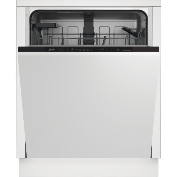 Lavavajillas - Beko DIN36420AD lavavajilla Semi integrado 14 cubiertos