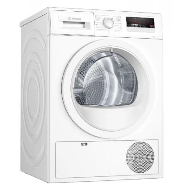 Secadora Bomba de calor - Bosch Serie 4 WTR85V91ES secadora Independiente Carga frontal Blanco 8 kg A++
