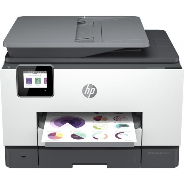 Impresora Multifunción - HP OfficeJet Pro 9022e Inyección de tinta A4 4800 x 1200 DPI 24 ppm Wifi