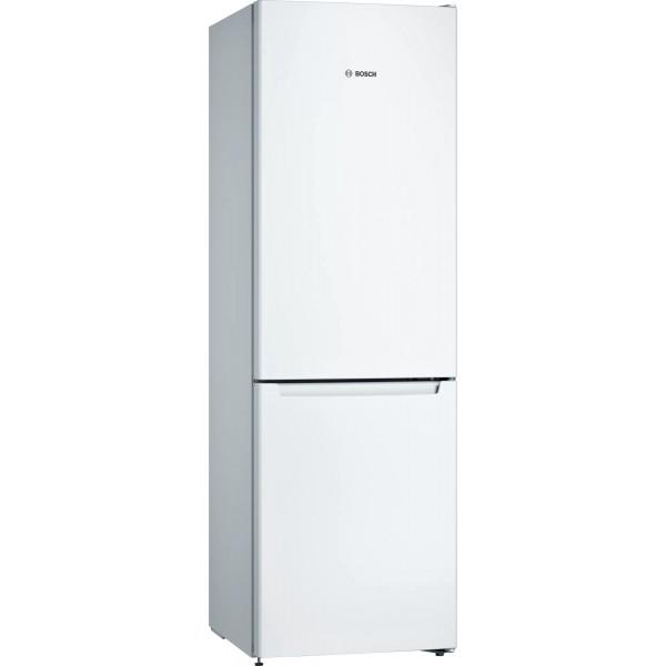 Frigorífico combi - Bosch Serie 2 KGN36NWEB nevera y congelador Independiente 302 L Blanco