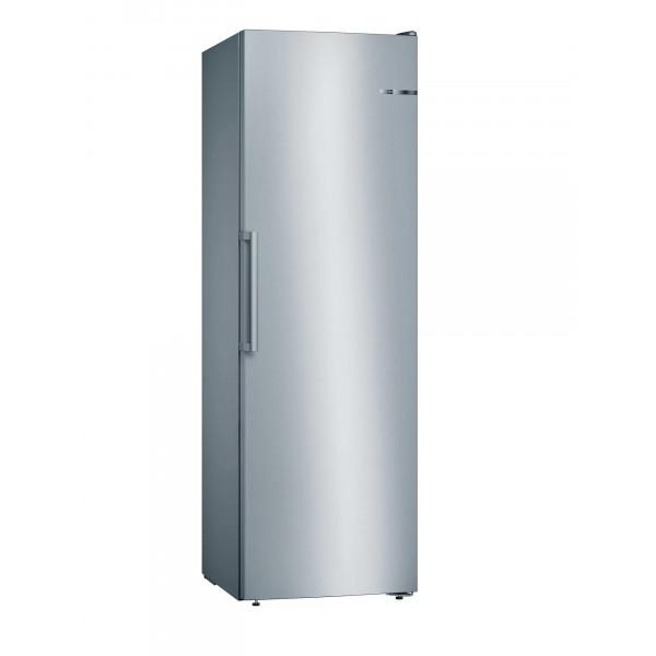 Congelador vertical - Bosch Serie 4 GSN36VIFP congelador Independiente Vertical 242 L Acero inoxidable