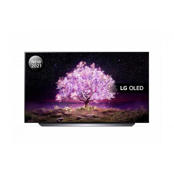 TV 121,9 cm (48 INCH) - LG OLED48C14LB Televisor 121,9 cm (48 INCH) 4K Ultra HD Smart Wifi Negro, Titanio