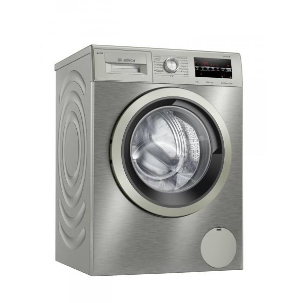 Lavadora Carga Frontal - Bosch Serie 6 WAU24S5XES lavadora Independiente Carga frontal 9 kg 1200 RPM C Acero inoxidable