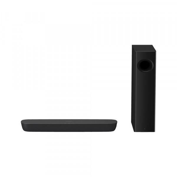 Panasonic SC-HTB250 altavoz soundbar 2.1 canales 120 W Negro Inalámbrico y alámbrico