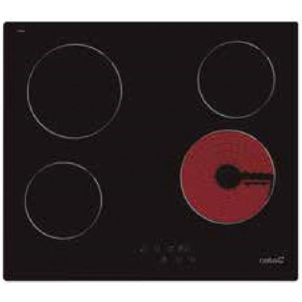 Vitrocerámica - CATA TN 604 hobs Negro Integrado Cerámico 4 zona(s)