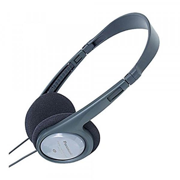Auriculares - Panasonic RP-HT090E Negro, Gris Supraaural Diadema auricular