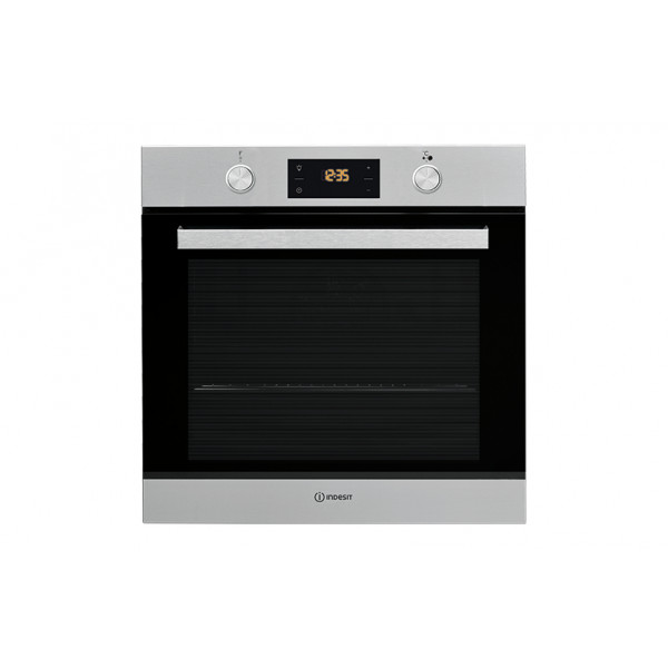 Horno - Indesit IFW 6841 JH IX eléctrico 71L A+ Acero inoxidable