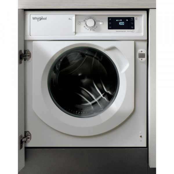 Lavadora Carga Frontal - Whirlpool BI WMWG 81484E EU lavadora Integrado Carga frontal 8 kg 1400 RPM Blanco
