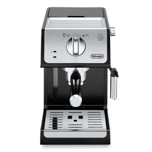 Cafetera Express DeLonghi Autentica ECP33.21.BK cafetera eléctrica Independiente Máquina espresso Negro 1,1 L Semi automática