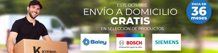 Envío Gratis en Bosch, Siemens y Balay