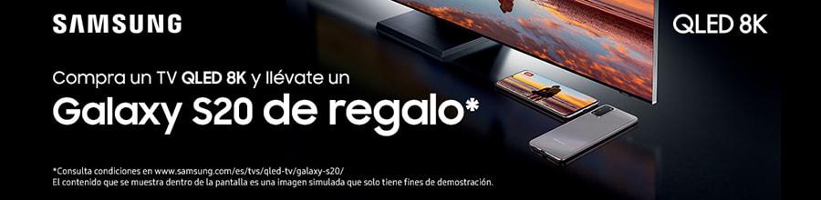 Galaxy S20 de Regalo con tu QLED 8K