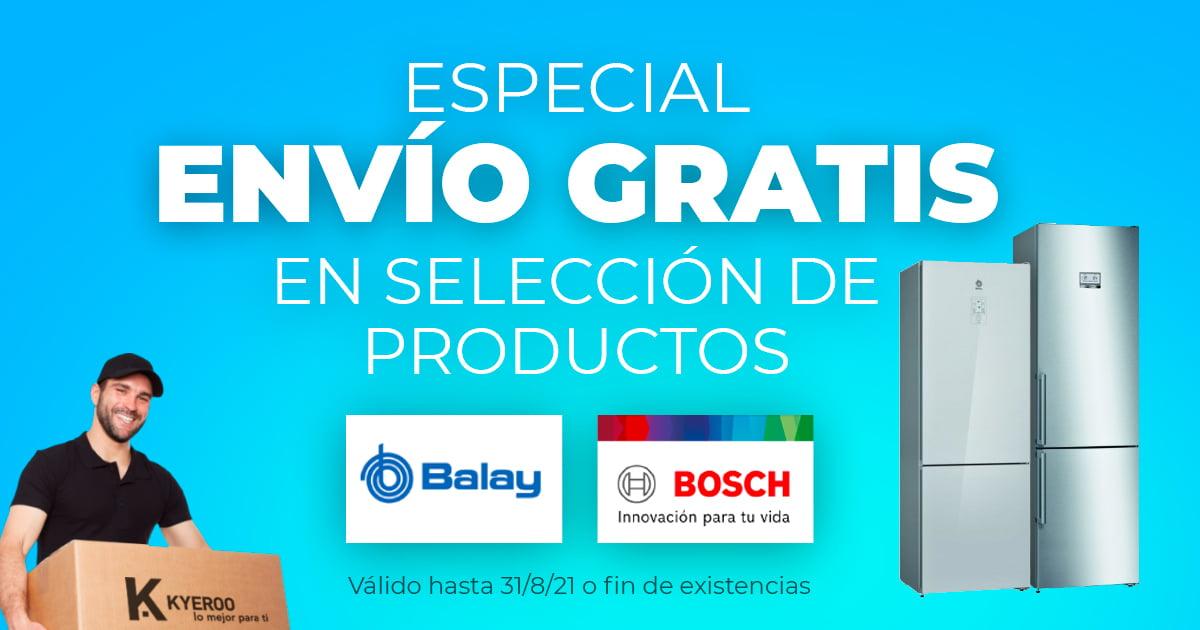 Envío Gratis Bosch y Balay
