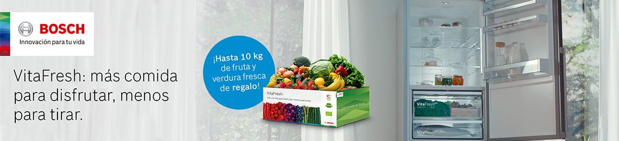 Compra un frigorífico VitaFresh y Bosch te lo llena gratis de fruta fresca!