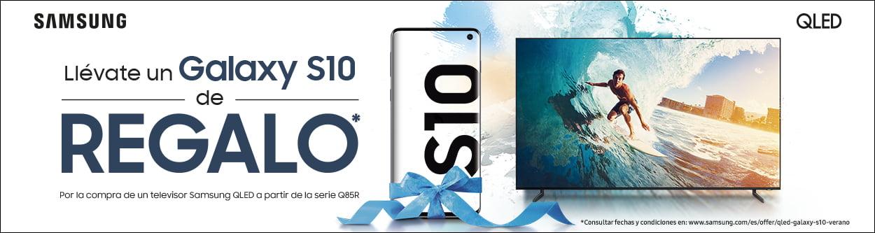 Galaxy S10 de regalo con tu QLED